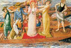 stanley spencer christ preaching at cookham regatta