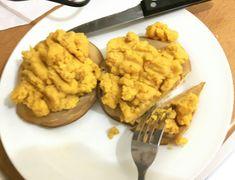 Yellow split-pea scramble