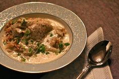 Shakriya - Can't wait for the weather to keep cooling so I can make this Syrian comfort food again! www.cupsofchai.com