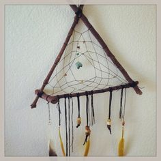 A sample of what will be on site at #EtsyFest15 on Saturday, April 25 in Hillcrest! @Etsy #etsy #etsylr #handmade #shoplocal #livelocal Driftwood Dreamcatcher with Wire-wrapped Sodalite by WoodlandPoppy