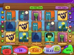 Slot Game by Anna Chuyko, via Behance