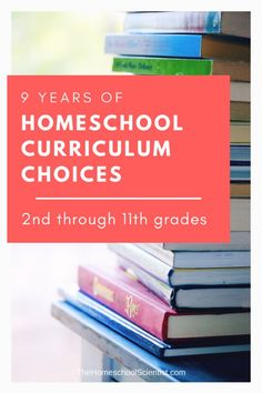 9 years of homeschool curriculum choices - through grades Earth Science, Life Science, Educational Crafts, Science Fair Projects, 9 Year Olds, Home Schooling, Homeschool Curriculum, Lesson Plans, Middle School