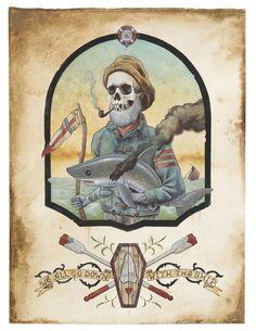 ☆ Dead Mans Tales :: Artist Derek Nobbs ☆