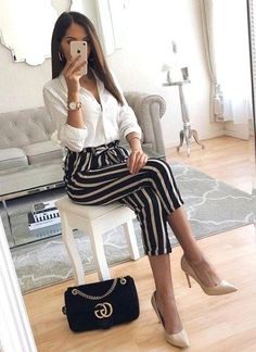 30 Trendy Business Casual Work Outfit for Women - Business Casual Outfits for Women Business Casual Outfits For Work, Business Dress, Professional Outfits, Work Casual, Casual Wear, Business Attire, Office Outfits Women Casual, Business Fashion, Business Outfits Women