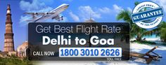 Goa is very well known place for beaches and summer. You want to go New Delhi to Goa flights from Indira Gandhi airport is one of the international airport in Delhi. We gave you affordable price Delhi to goa flights air ticket. You can watch our website for more enquiry or call me on 1800 3010 2626.