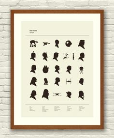 Star Wars alphabet by ChartGeek. If you can figure out what each letter stands for, it just shows your embarassing obsession of Star Wars. Star Wars Silhouette, Silhouette Art, Gig Poster, Nave Star Wars, Star Trek, Star Wars Cute, Starwars, Alphabet Charts, Alphabet