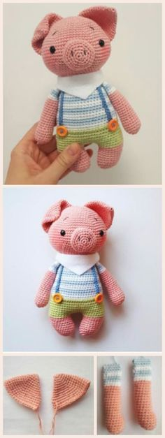 How to Make Amigurumi Piggy