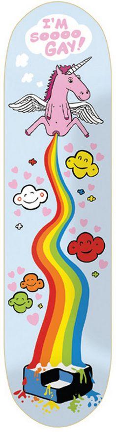 Consolidated I'm-so-Gay - titus-shop.com  #Deck #Skateboard #titus #titusskateshop