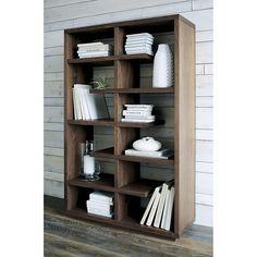 """Elevate Walnut 68"""" Bookcase Crate & Barrel"""