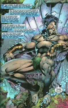 365 Days With Namor the Sub-Mariner - Page 143 Comic Book Pages, Comic Page, Comic Book Artists, Comic Books Art, Dc Comics Art, Anime Comics, Marvel Comics, Marvel Comic Character, Marvel Characters