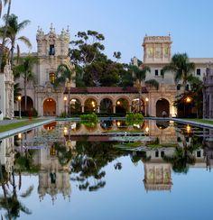 Balboa Park, San Diego  I love the spanish architecture
