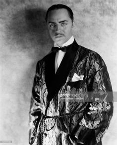 William Powell smolders in smoking jacket, Getty Images