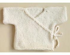 Baby Kimono Pattern (Knit)