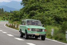 ランクル60丸目クラシックスタイルカスタム 走行シーン Toyota Landcruiser60