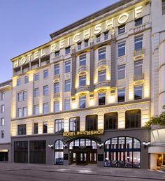 Hotel Reichshof | Hamburg | Germany (1910)
