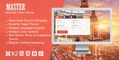 Master - Ultimate Travel Theme for Joomla ⠀ Whether you are big time travel agency or just travel startup, the master theme will be ideal template for your website. It comes with two home page variations to match your taste and business proc... ⠀ # #cmsthemes #dasinfomedia #joomla #joomla30traveltheme #joomlatemplate #red #responsivetraveltemplate #themeforest #touragency #travelagent #travelcms #travelspecial #traveltheme #responsive #travel #retail Travel Specials, Joomla Templates, Create Website, Travel Themes, Ultimate Travel, Big Time, Travel Agency, Website Template, Time Travel