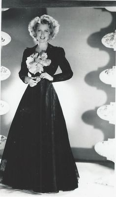Nelson's favorite photo of Jeanette. I read somewhere that he had this framed - ESCANO COLLECTION