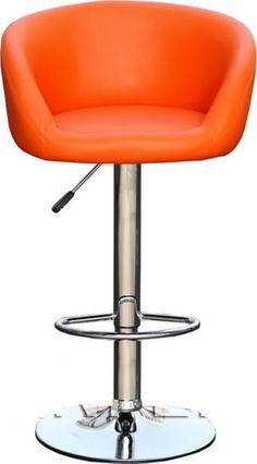Tuscany Orange Bar Stool