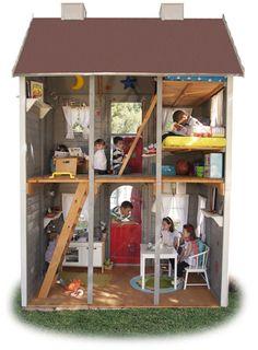 Casa de madera infantilVILLA ORLEANS
