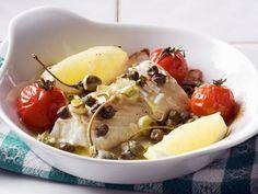 Probieren Sie den leckeren gebackenen Kabeljau mit Kapern von EAT SMARTER oder eines unserer anderen gesunden Rezepte!