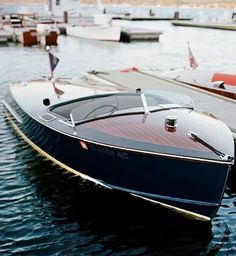 Lindo bote de madera