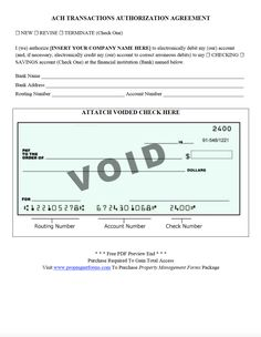 authorization agreement for direct deposit form