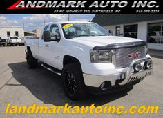 2009 GMC Sierra 2500HD Extended Cab Long Bed 4WD truck. 6.6L Duramax diesel engine, 99k miles. Smithfield, NC