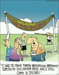 Olympic spirit!