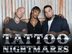 Tattoo Nightmares cast, Tommy, Jasmine and Big Gus have their work cut out for them!