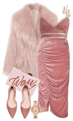 Designer Clothes, Shoes & Bags for Women Vivetta, Pink Outfits, Elegant Outfit, Polyvore Outfits, Miu Miu, Ted Baker, Natural Hair, Fashion Ideas, Glow