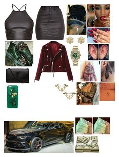 """""""Untitled #1708"""" by cupcakemafia32 ❤ liked on Polyvore featuring Dolce&Gabbana, Yves Saint Laurent, Rolex and Temple St. Clair"""