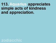 Aquarius fact from ZodiacChic.