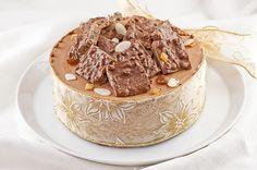 Suklainen rommi-rusinakakku