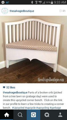 Broken crib