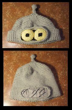 Crocheted Bender Hat by APickledPriest.