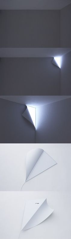 wall peel light - I want so bad, I think it could freak some people out! (Cool Bedrooms Creative)