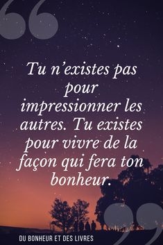 Here is one of my favorite quotes for inspiration and motivation. Positive Quotes For Life Happiness, Positive Attitude, Favorite Quotes, Best Quotes, Love Quotes, Tips To Be Happy, Motivational Quotes, Inspirational Quotes, French Quotes