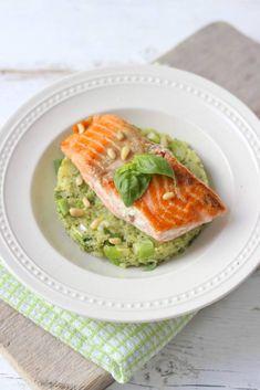 Photo by Lekker en Simpel Super Healthy Recipes, Healthy Cooking, Vegetarian Recipes, Broccoli Puree, Healthy Diners, Pesco Vegetarian, Low Carb Brasil, Good Food, Yummy Food