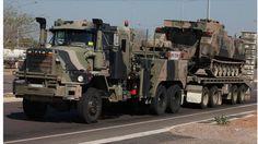 Aussie Army Mack Tow truck