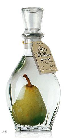 Hediard Poire prisonnière - Spirits and Liqueur #packaging #liqueur #pear