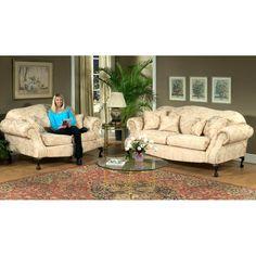 Found it at www.dcgstores.com - ♥ ♥ Queen Elizabeth 3 Piece Print Fabric Sofa Set ♥ ♥