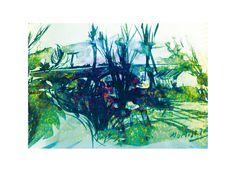 Tinta China y tratamiento digital. Dibujo del natural. Art Brut, Cover Photos, Facebook, Night, Natural, Artwork, Painting, Fun Projects, Art Director