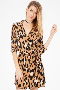 a6912d60234 Leopard Print Jersey Dress - super soft jersey material! Milo   Lily  Boutique