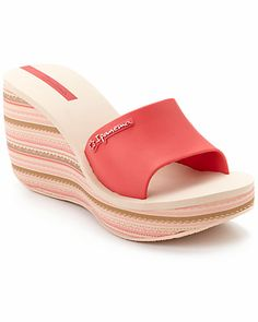 "Some of you have to get in on this: Ipanema ""Salsa"" Wedge Sandal"