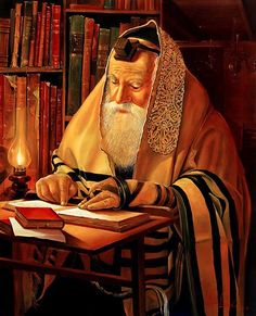 Torah reading in the Shul (Alex Levin) - NER Art Gallery Cultura Judaica, Arte Judaica, Biblical Hebrew, Biblical Art, Jewish History, Jewish Art, Temple In Jerusalem, Reading Art, Torah