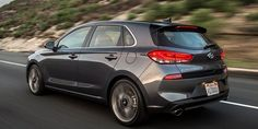 The 2018 Hyundai Elantra GT Sport Is a 201-HP Nurburgring-Tuned Hatchback   Hyundai's answer to the VW Golf and Honda Civic Hatch brings a turbocharged 1.6-liter and a six-speed stick.  Hyundai and Kia are finally building cars aimed to make enthusiasts take notice. The latest such offering is the Hyundai Elantra GT Sport which just made its debut today at the Chicago Auto Show. It's not the hardcore hot hatch we've been waiting for but it should stack up nicely against the Mazda3 Honda…