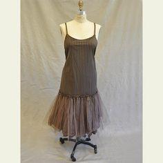Long Roxy Slip - so cute under a shorter skirt/tunic