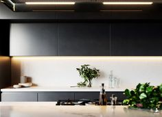 CGarchitect - Professional 3D Architectural Visualization User Community | Black Kitchen