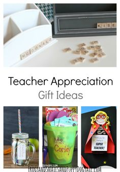 Great ideas for end of the year gifts for tutors, troop leaders, Sunday school teachers, and more!