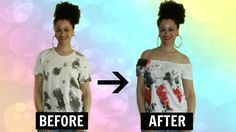 👕 DIY Off the Shoulder Top in 5min | T-shirt Transformation | #MakeOverM... Teen Girl Shoes, Teen Girl Outfits, Summer Dress Outfits, Casual Work Outfits, Summer Patterns, Cool Patterns, Robe Diy, Teen Girl Hairstyles, Shirt Transformation